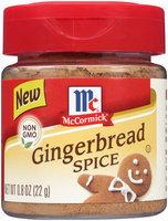 McCormick® Gingerbread Spice 0.8 oz. Shaker