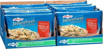 Bird's Eye® Steamfresh® Chef's Favorites Lightly Sauced Penne with Spinach & Parmesan Sauce 10-12 oz. Bags