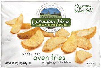 Cascadian Farm® Wedge Cut Oven Fries 16 oz. Bag