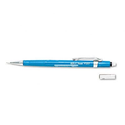 Pentel P207C Sharp Mechanical Drafting Pencil 0.7mm Blue Barrel