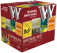 Widmer Brothers Brewing Brother's Best Variety Pack Beer 12-12 fl. oz. Bottles