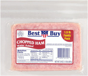 Best Buy Chopped Ham 24 Oz Package