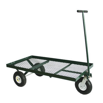 Edsal Sandusky Sandusky Heavy Duty Steel 3-Wheel Flat Cart
