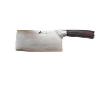 Zhen VG-10 Damascus Series 67-Layer Light Slicer Chopping Chef Butcher Knife/Cleaver Blade Length: 6.5