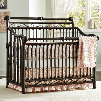 Babys Dream Furniture Inc Cirque Convertible Crib Finish: Pewter