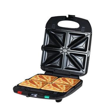 Z & Z Inc 4 in 1 Sandwich Maker Color: Black