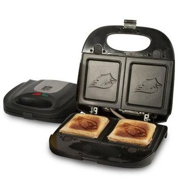 Pangea Brands Cleveland Browns Logo Sandwich & Waffle Grill