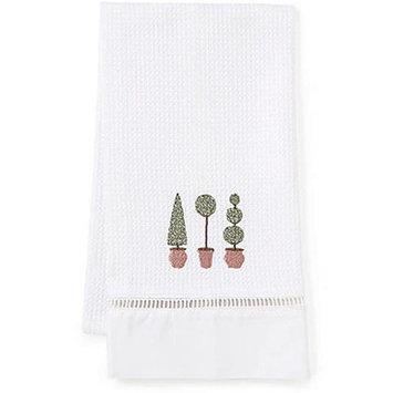 Jacaranda Living Three Topiary Trees Hand Towel
