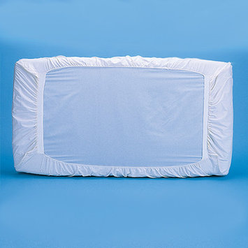 Bargoosehometextiles Patented Crib Safety Sheet Color: White, Size: 2