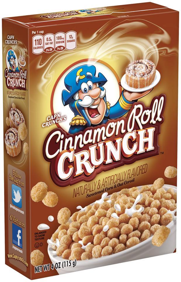 Cap'n Crunch's® Cinnamon Roll Crunch™ Sweetened Corn & Oat Cereal