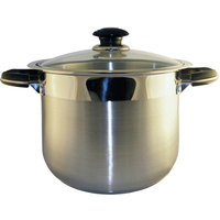 Concord Cookware CONCORD 180 QT Stainless Steel Brew Kettle Stock Pot 45 Gallons (Standard Pkg)