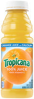 Tropicana With Calcium Orange Juice 15.2 Oz Plastic Bottle