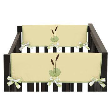 Sweet Jojo Designs Leap Frog Side Crib Rail Guard Cover