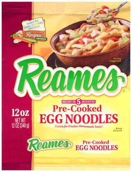 Reames® Pre-Cooked Egg Noodles 12 oz. Bag