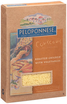Peloponnese™ Mediterranean Specialities Couscous Roasted Chicken with Vegetables 5.45 oz. Box