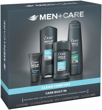 Dove® Men+Care Clean Comfort Gift Set 4 ct Box