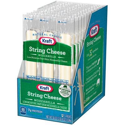 Kraft Mozzarella String Cheese 12-3 ct Packs