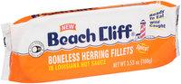 Beach Cliff® Boneless Herring Fillets in Louisiana Hot Sauce 3.53 oz. Pack