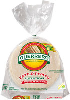 Guerrero® Estilo Pepito® White Corn Tortillas 30 ct Bag