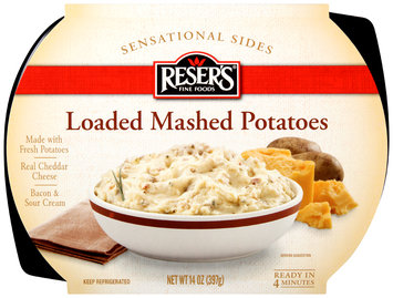 Reser's Fine Foods® Sensational Sides Loaded Mashed Potatoes 14 oz. Tray