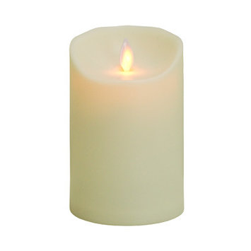 MYSTIQUE 35217 MYSTIQUE OUTDOOR FLAMELESS CANDLE MYSTIQUE 5 in. IVORY Pack of - 2