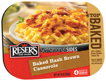 Reser's Fine Food® Sensational Sides Baked Hash Brown Casserole 14 oz