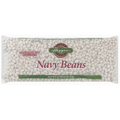 Haggen Navy Beans 16 Oz Bag