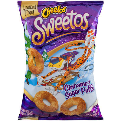 Cheetos® Sweetos Cinnamon Sugar Puffs