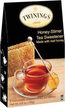 Twinings of London® Honey-Stirrer Tea Sweetener Made with Real Honey 5.6 oz. Bag