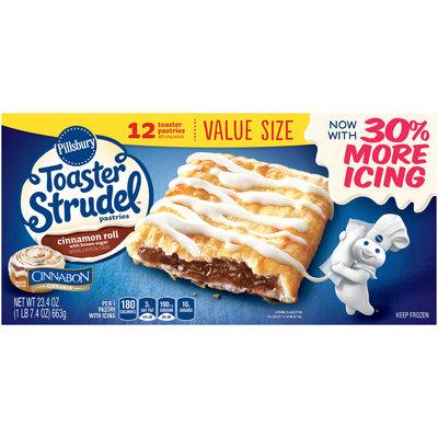 Pillsbury Toaster Strudel™ Cinnamon Roll Toaster Pastries 12 ct Box