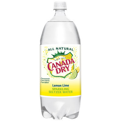 Canada Dry® Lemon Lime Sparkling Seltzer Water 2L Plastic Bottle