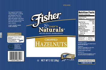 Fischer® Chef's Naturals® Chopped Hazelnuts 2 oz Bag
