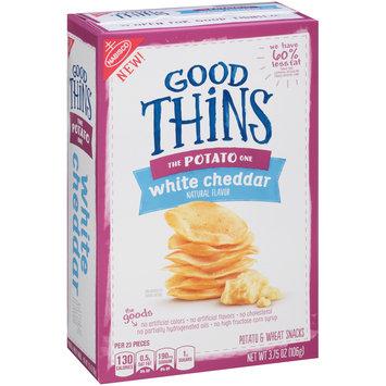 Good Thins White Cheddar Potato Snacks 3.75 oz. Box