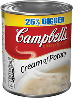 Campbell's Cream of Potato Condensed Soup 13.3 oz. Can