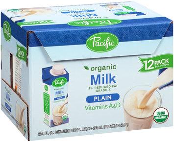 Pacific Plain 2% Reduced Fat Organic Milk