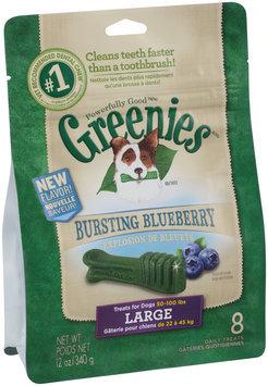 Greenies® Bursting Blueberry Large Dog Treats 12 oz. Bag