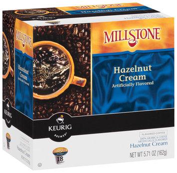 Millstone Hazelnut Cream Flavored K-Cups Coffee 18 Ct Box