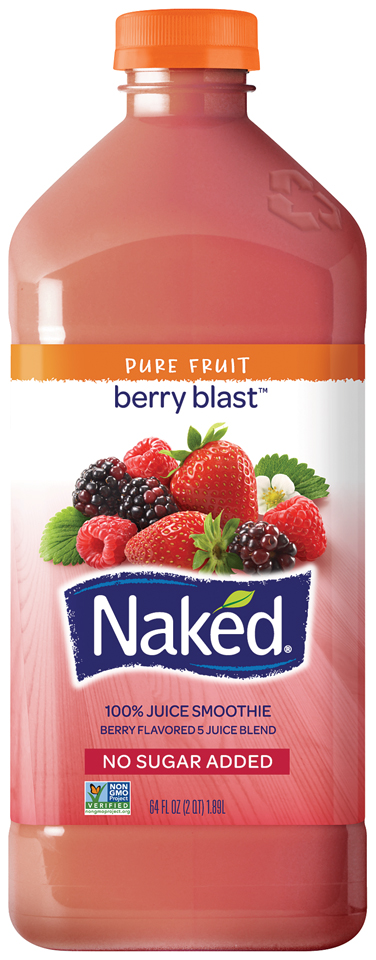 Naked Juice® Berry Blast™ 100% Juice Smoothie 64 fl. oz. Bottle