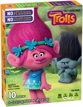 Betty Crocker® Trolls Fruit Flavored Snacks 10-0.8 oz. Pouches