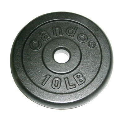 CanDo 10-0604 Iron Disc Weight Plate 10 Lb.