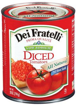Dei Fratelli Diced Low Sodium Tomatoes