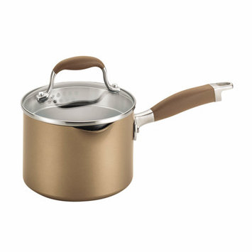 Anolon Advanced Bronze 2-qt. Covered Straining Saucepan with Lid