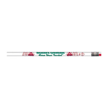Rose Moon Inc Dba/mmod Products Moon Products Season's Greetings from your Teacher Pencils - Pack of 12