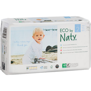 Eco by Naty® Size 2 Diapers 34 ct Pack