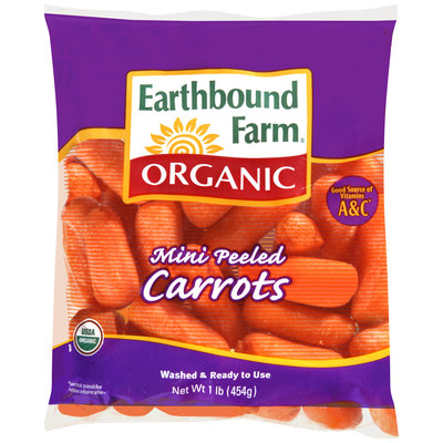 Earthbound Farm® Organic Mini Peeled Carrots 1 lb. Bag