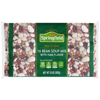 Springfield® 16 Bean Soup Mix with Ham Flavor 20 oz. Bag