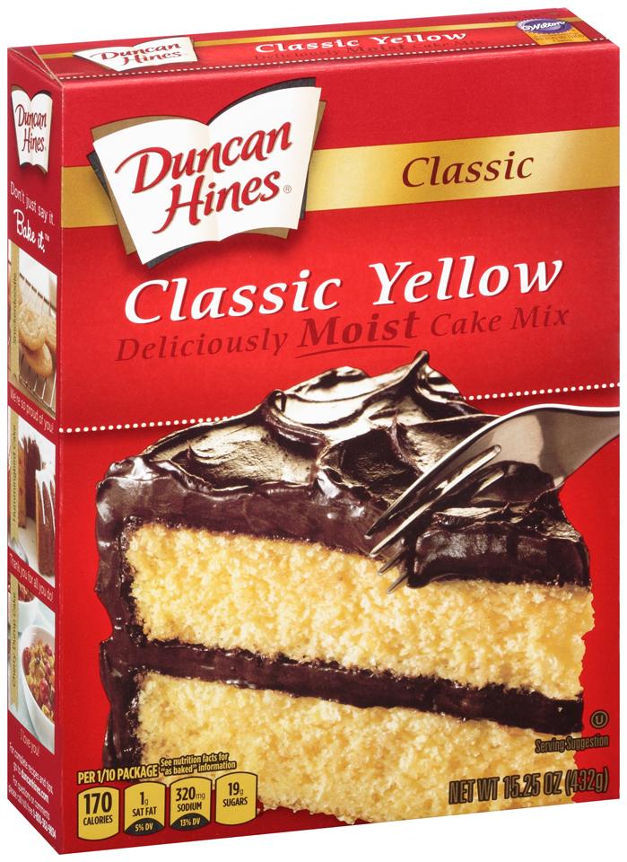 Duncan Hines® Classic Yellow Cake Mix