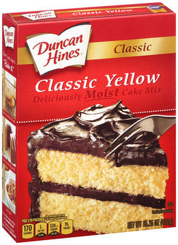 Duncan Hines® Classic Yellow Cake Mix