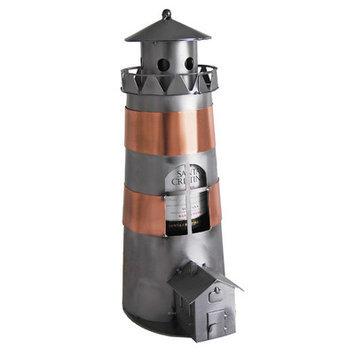 H & K Sculptures Lighthouse 1 Bottle Tabletop Wine Rack