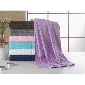 Berrnour Home Piano Bath Towel Color: Lavender